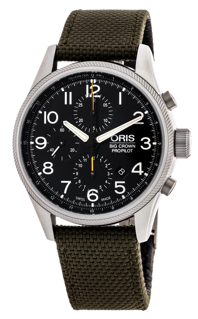 Часы Oris Big Crown ProPilot Chronograph 774 7699 4134 LS 5 22 14FC