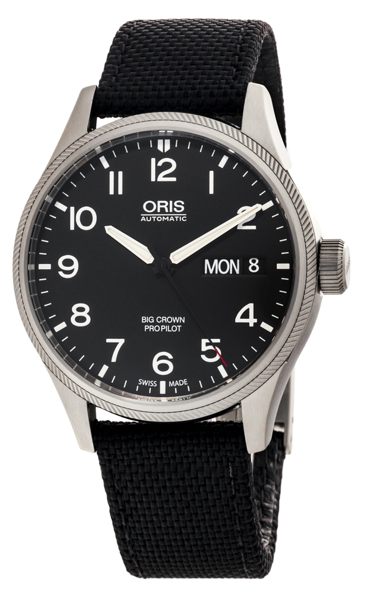 Часы Oris Big Crown ProPilot Day Date 752 7698 4164 LS 5 22 15FC
