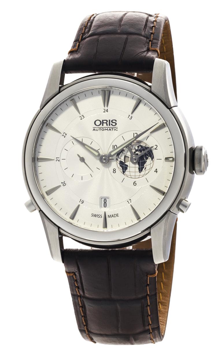 Часы Oris Artelier Greenwich Mean Time L.E. 690 7690 4081 Set LS