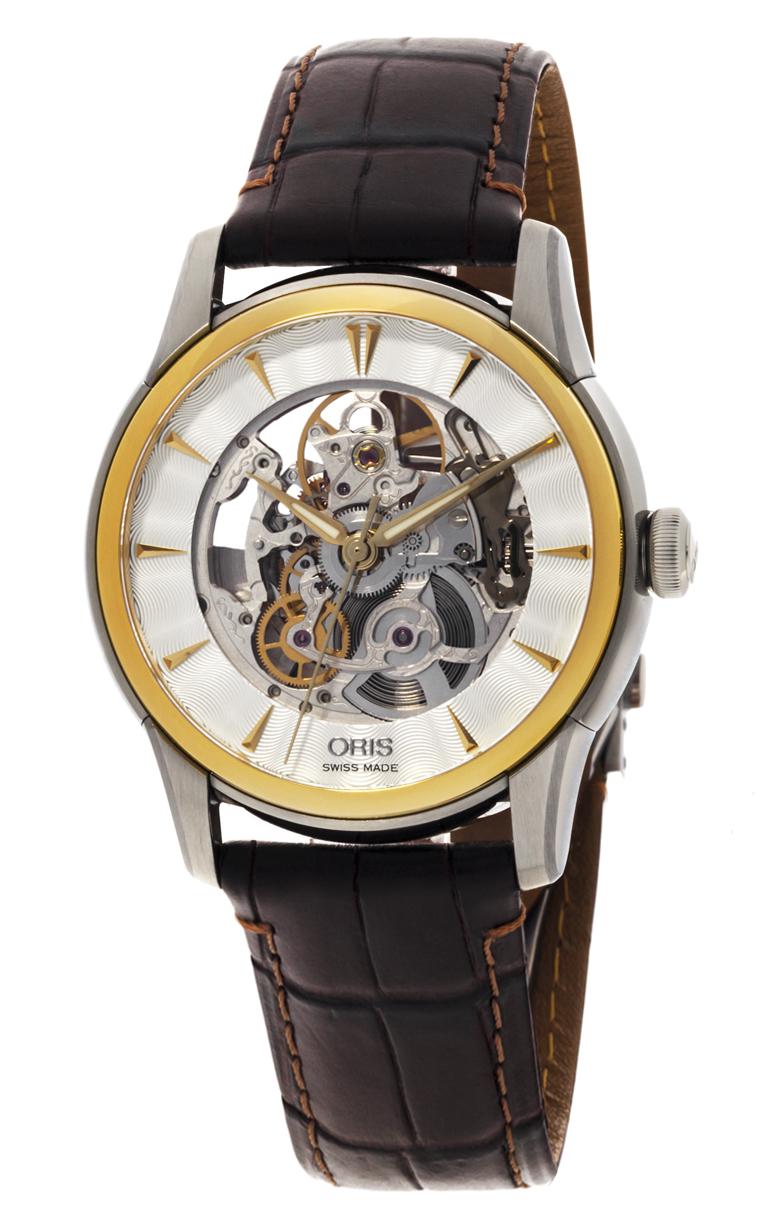 Часы Oris Artelier Skeleton 734 7670 4351 LS 5 21 70FC