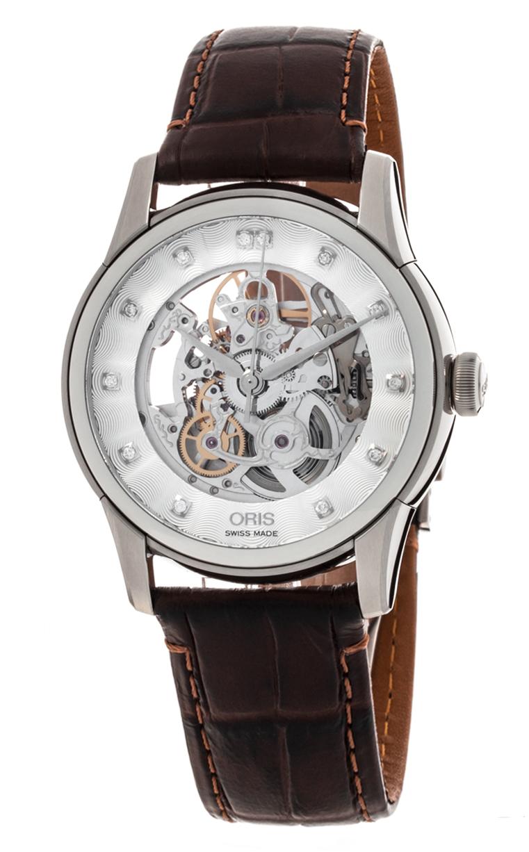 Часы Oris Artelier Skeleton Diamond 734 7670 4019 5 21 70FC