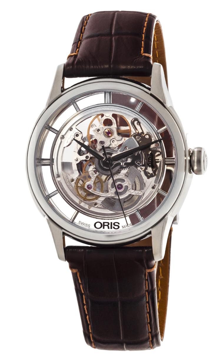 Часы Oris Artelier Translucent Skeleton 734 7684 4051 LS 5 21 70FC