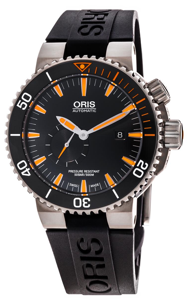Часы Oris Aquis Carlos Coste L.E. IV 743 7709 7184 Set RS