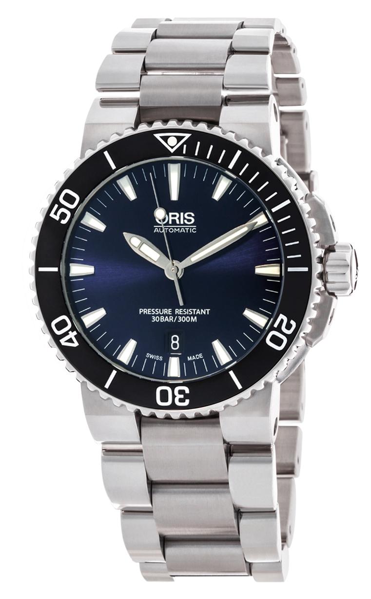 Часы Oris Aquis Date 733 7653 4135 MB 8 26 02 PEB