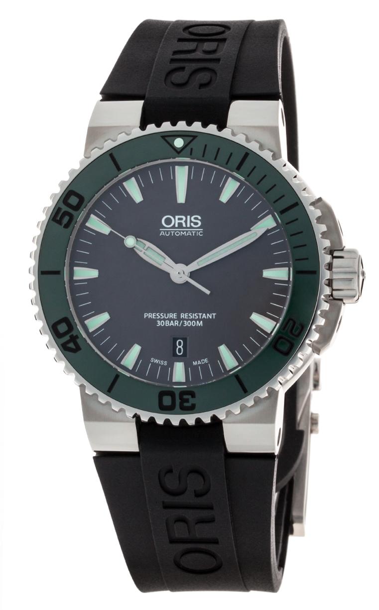 Часы Oris Aquis Date 733 7653 4137 RS 4 26 34 EB