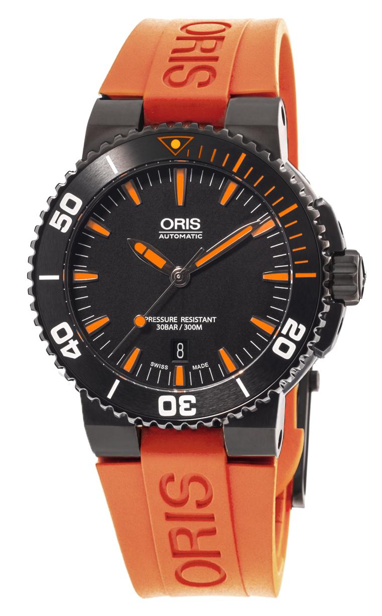 Часы Oris Aquis Date 733 7653 4259 RS 4 26 32 EB