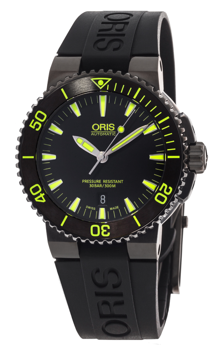 Часы Oris Aquis Date 733 7653 4722 RS 4 26 34 BEB