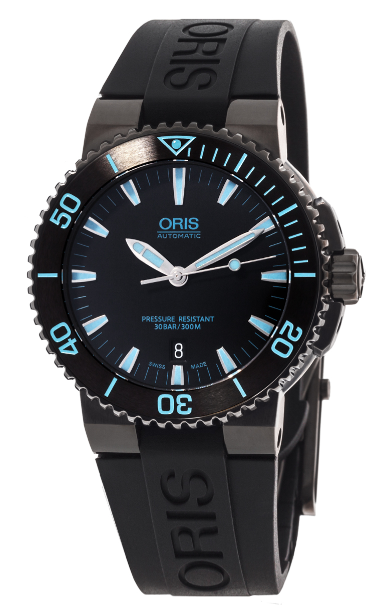 Часы Oris Aquis Date 733 7653 4725 RS 4 26 34 BEB