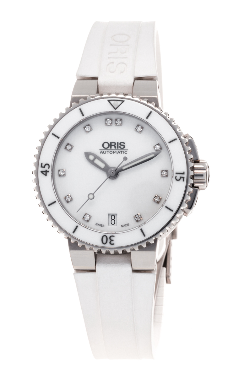 Часы Oris Aquis Date Diamonds 733 7652 4191 4 18 31