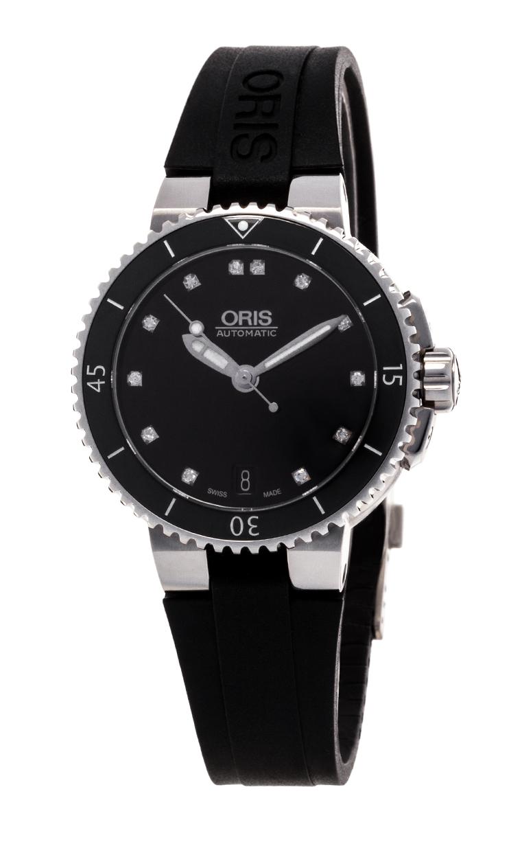 Часы Oris Aquis Date Diamonds 733 7652 4194 4 18 34