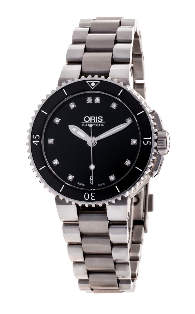 Часы Oris Aquis Date Diamonds 733 7652 4194 8 18 01P
