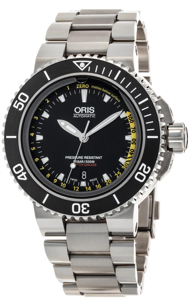 Часы Oris Aquis Depth Gauge 733 7675 4154 Set