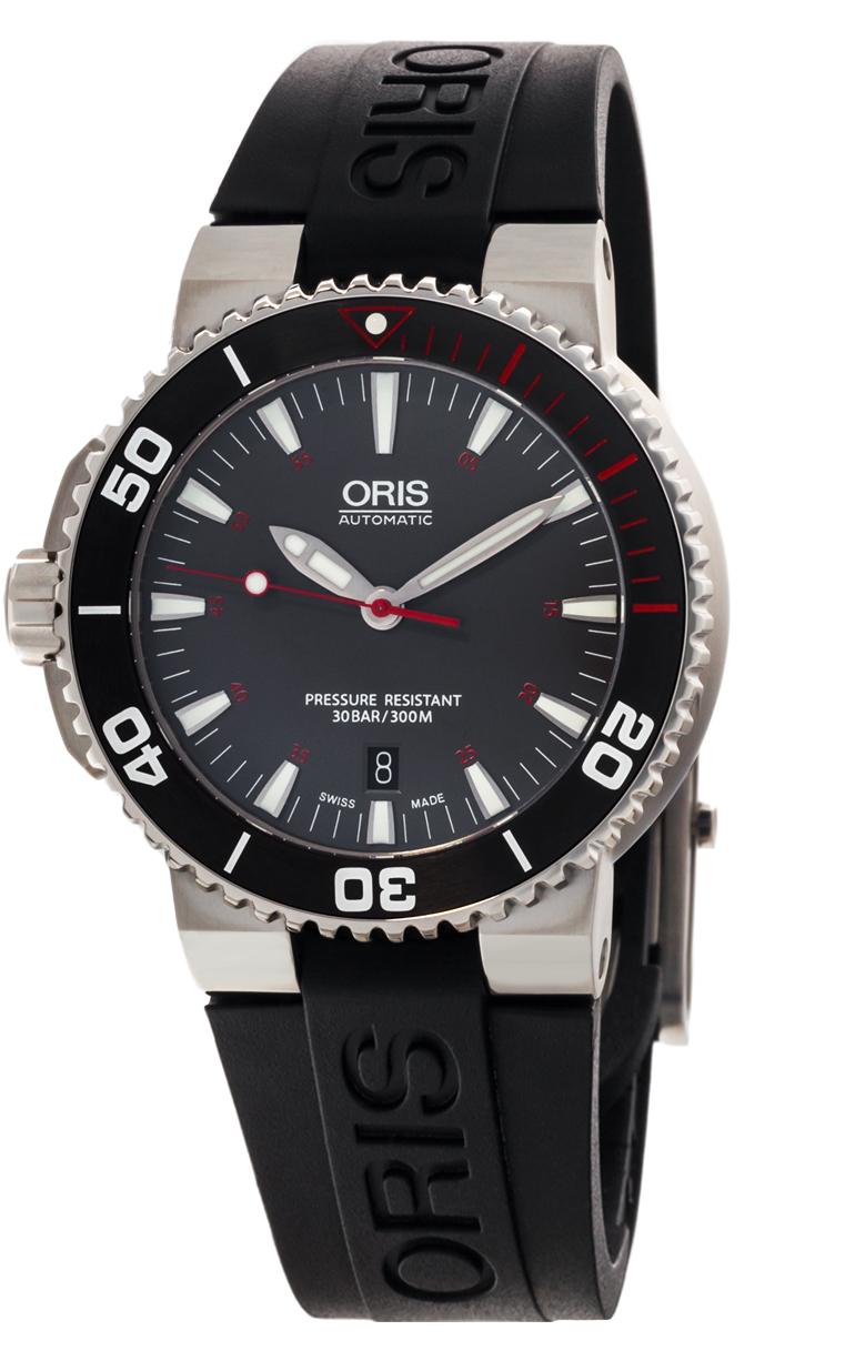 Часы Oris Aquis Red Sea L.E. 733 7653 4183 Set RS