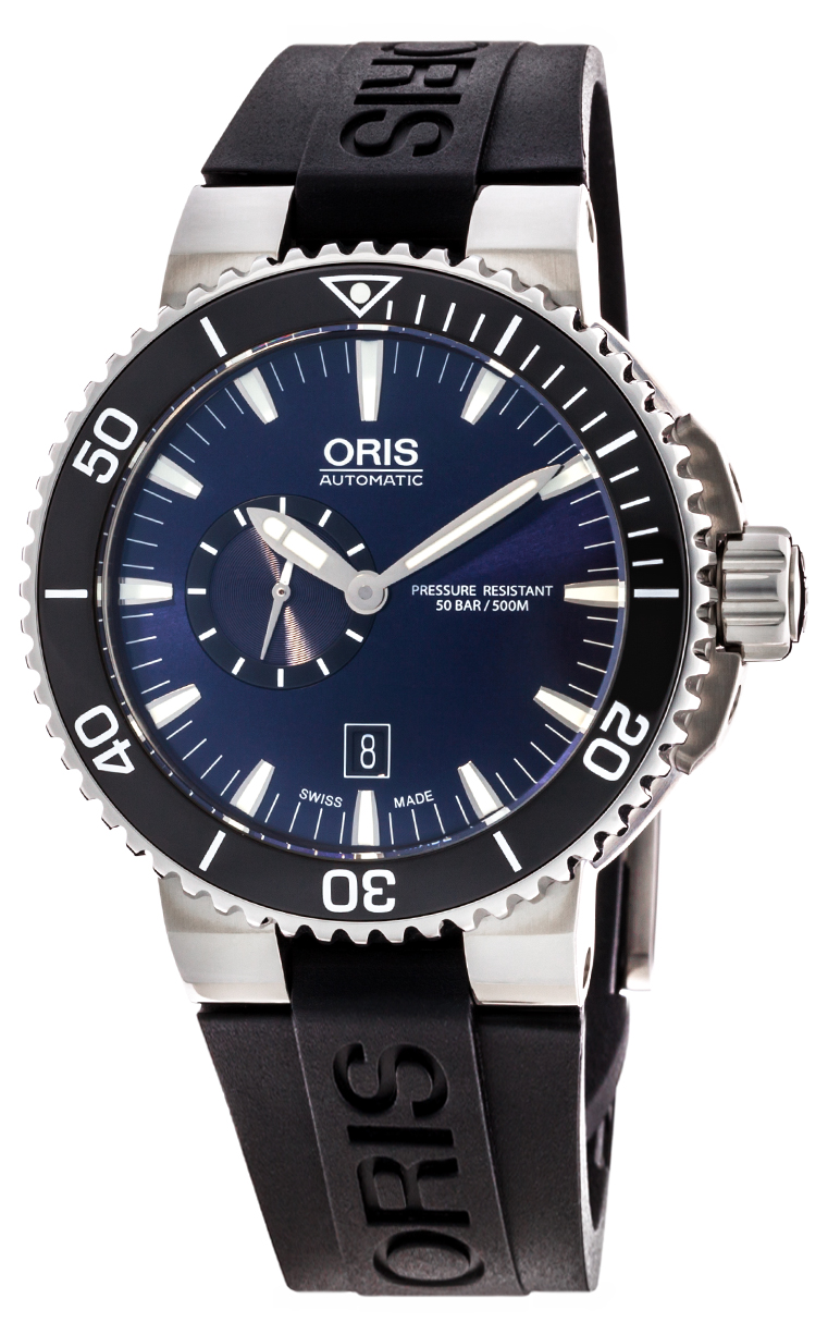 Часы Oris Aquis Small Second Date 743 7673 4135 RS 4 26 34EB