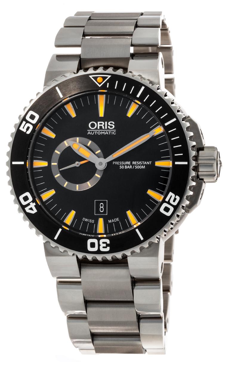 Часы Oris Aquis Small Second Date 743 7673 4159 8 26 01PEB