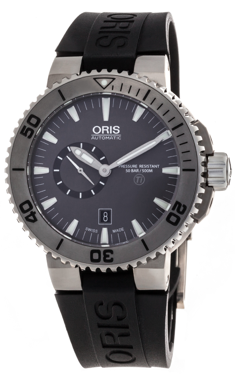 Часы Oris Aquis Titan Small Second 743 7664 72 53 RS 4 26 34 TEB