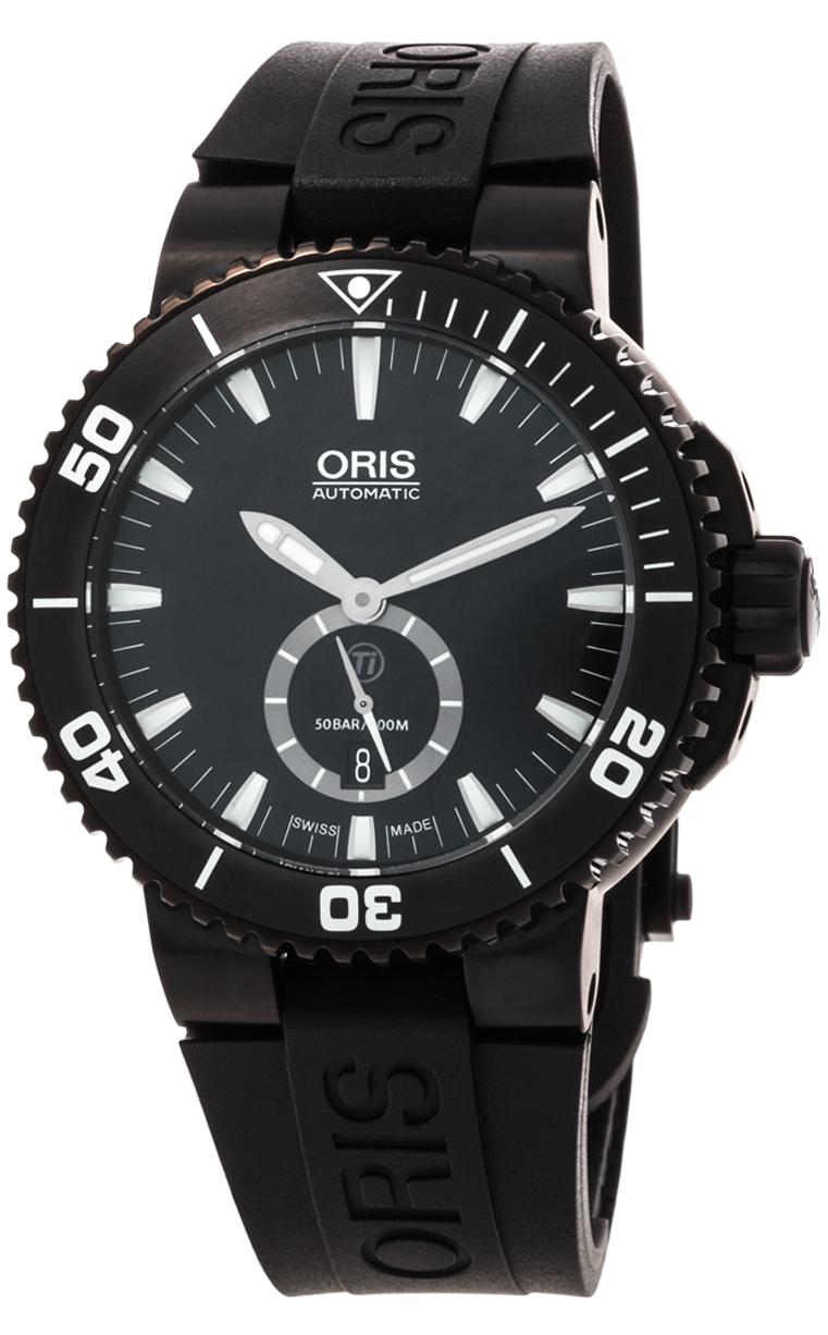 Часы Oris Aquis Titan Small Second Date 739 7674 7754 4 26 34BTE