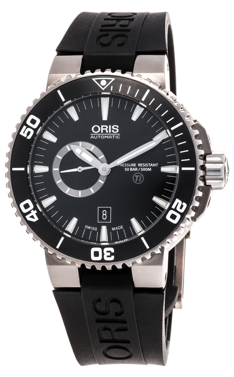 Часы Oris Aquis Titan Small Second Date 743 7664 7154 4 26 34 TEB