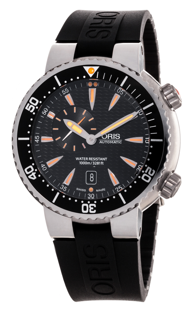 Часы Oris Divers Small Second Date 643 7609 8454 4 24 34EB
