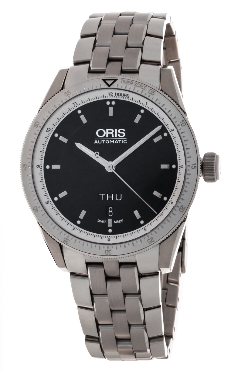 Часы Oris Artix GT Day Date 735 7662 4174 MB 8 21 85