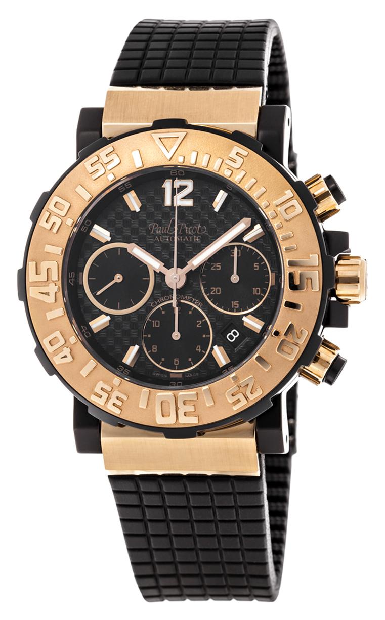 Часы Paul Picot C-Type Chrono 43 mm P3930.SRG.5010.3301