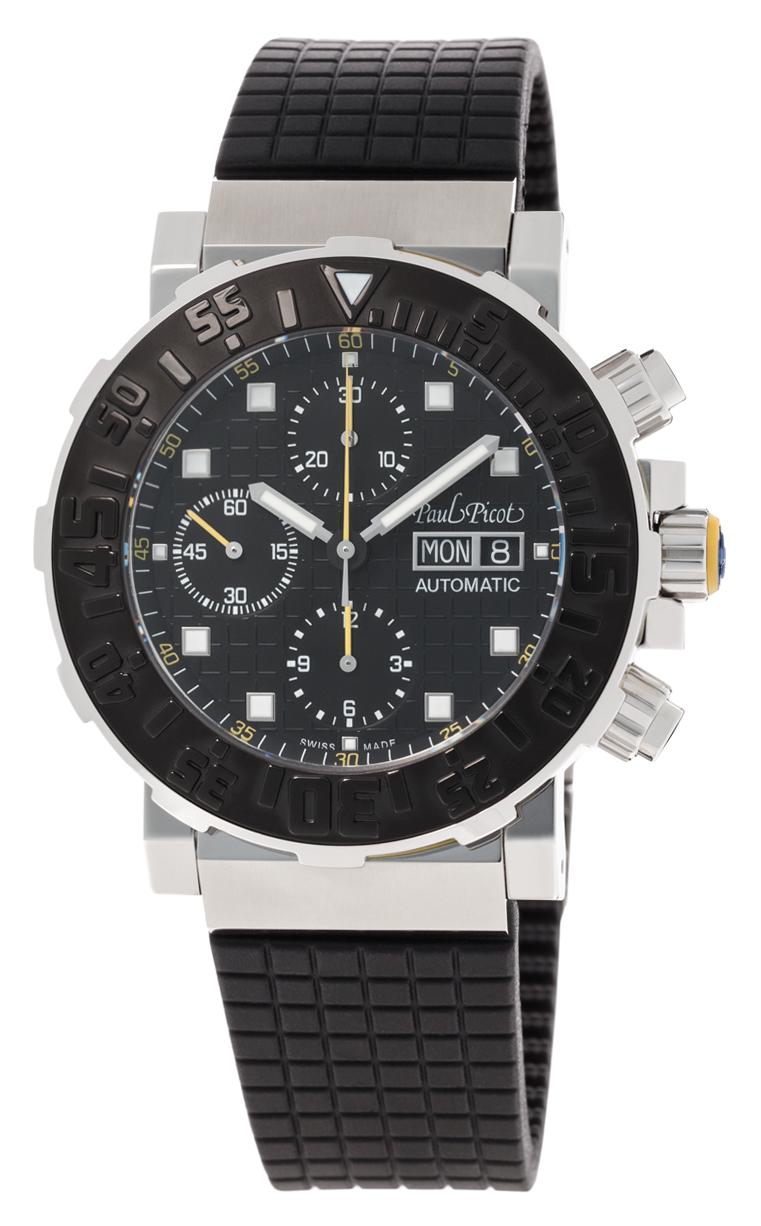 Часы Paul Picot C-Type Chrono 43 mm Day-Date P0628.SGJ.N.3401CM001
