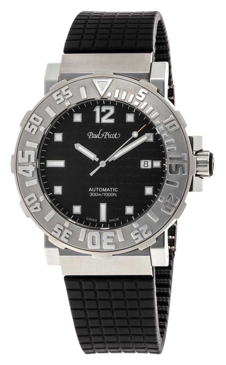 Часы Paul Picot C-Type Classic 43 mm P4118.SGN.3401CM001
