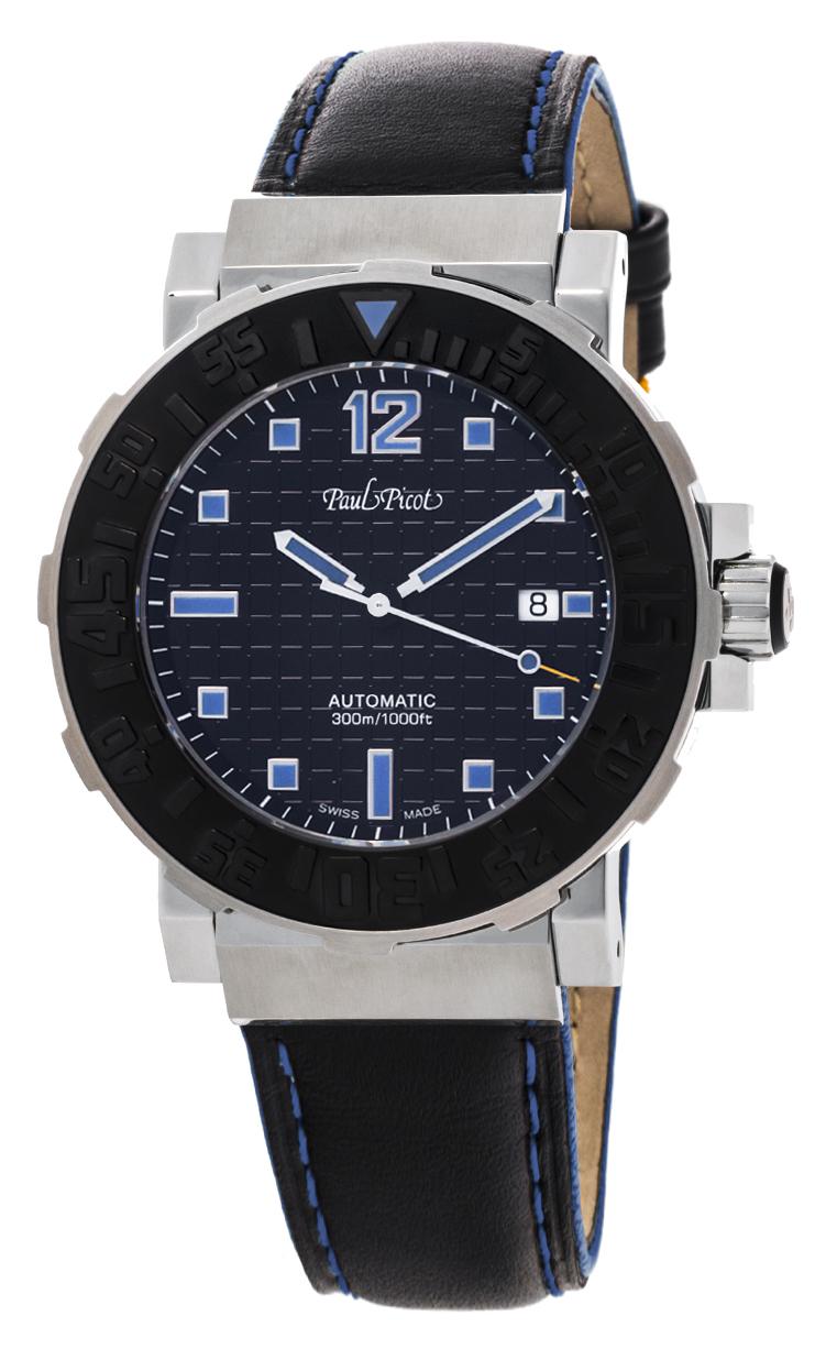 Часы Paul Picot C-Type Classic 43 mm P4118.SGN.N.3403CM001