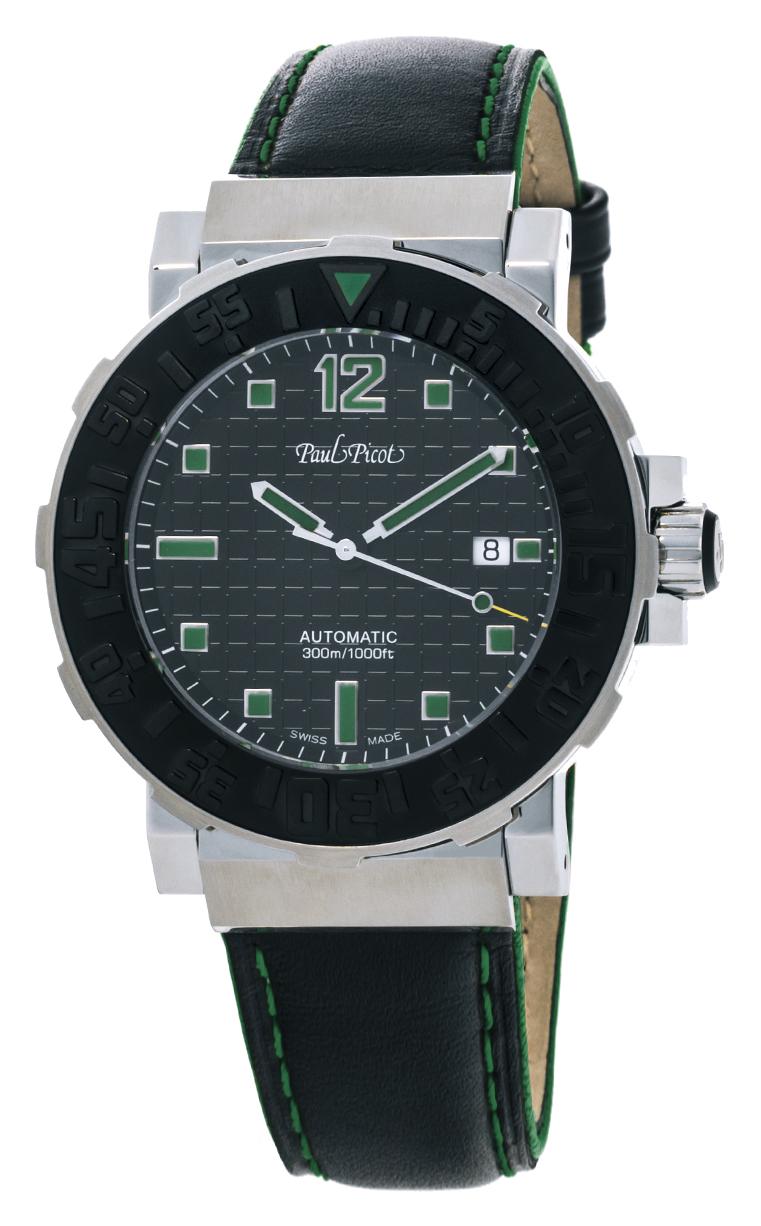 Часы Paul Picot C-Type Classic 43 mm P4118.SGN.N.3415CM001
