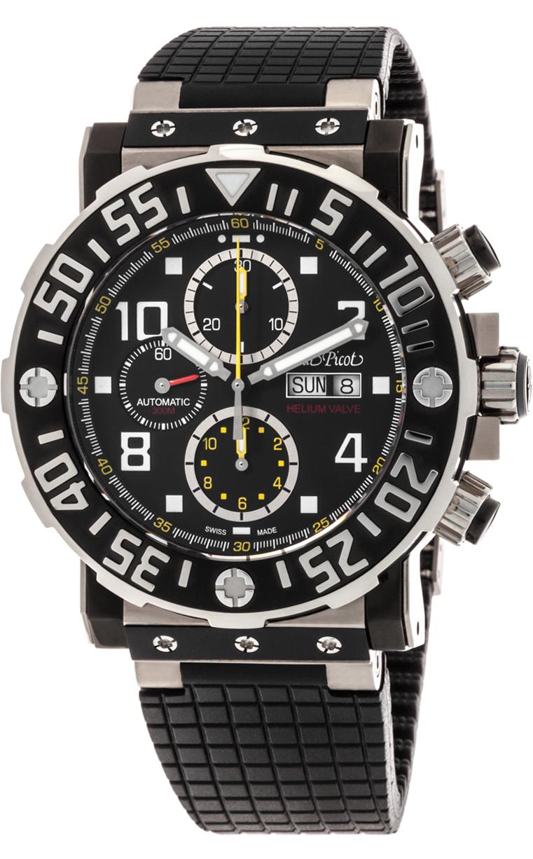 Часы Paul Picot C-Type Helium Valve P4030.H.TNG.5010.3331