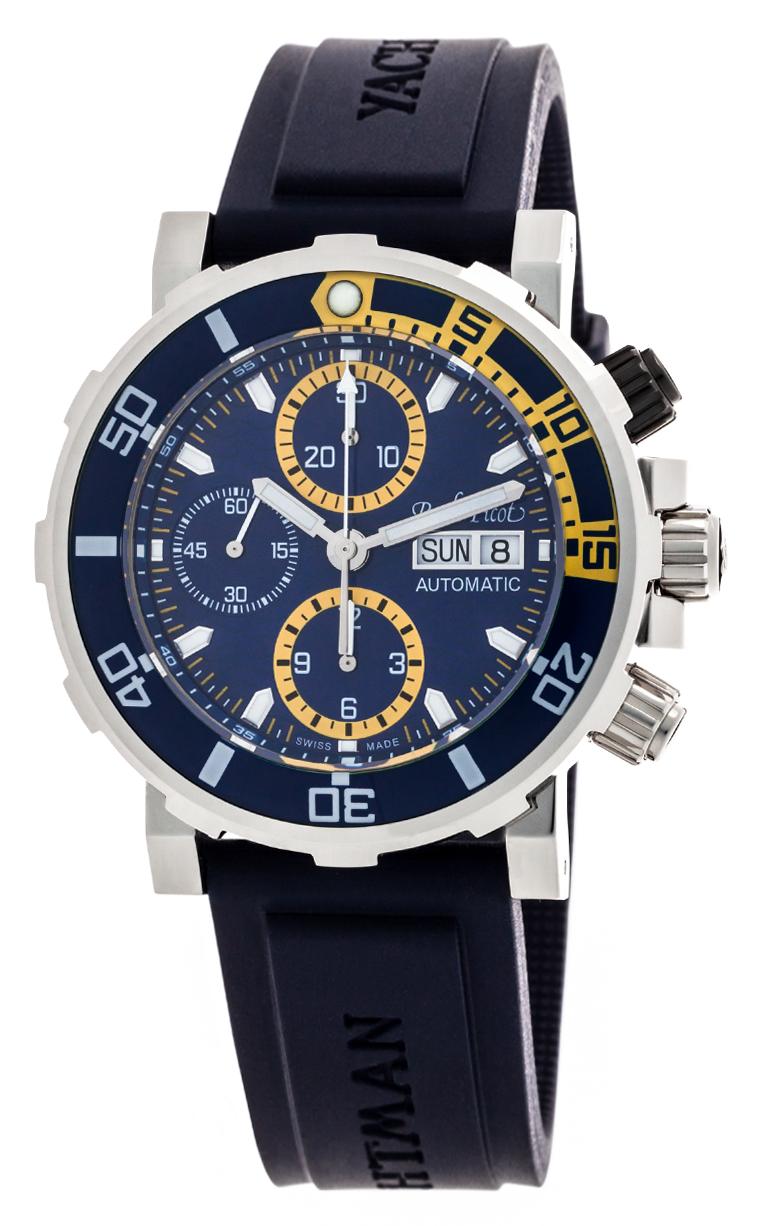 Часы Paul Picot C-Type Yachtman 3 Chronograph Day-Date P1127.BJS.SG.4000.2614