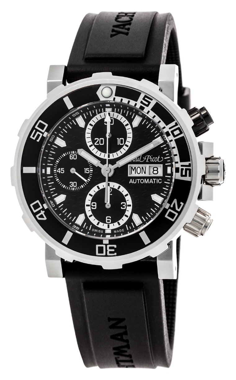 Часы Paul Picot C-Type Yachtman 3 Chronograph Day-Date P1127.NBLS.4000.3614