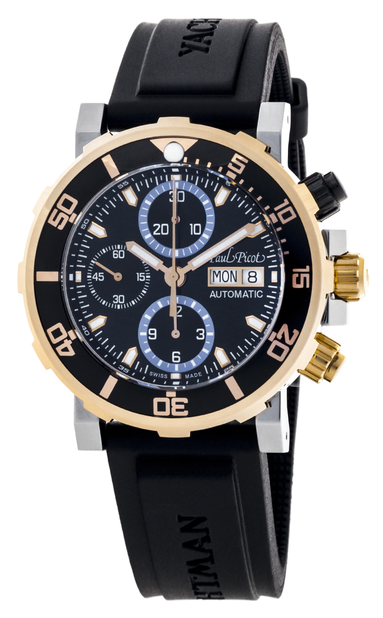 Часы Paul Picot C-Type Yachtman 3 Chronograph Day-Date P1127.SRG.4000.2604
