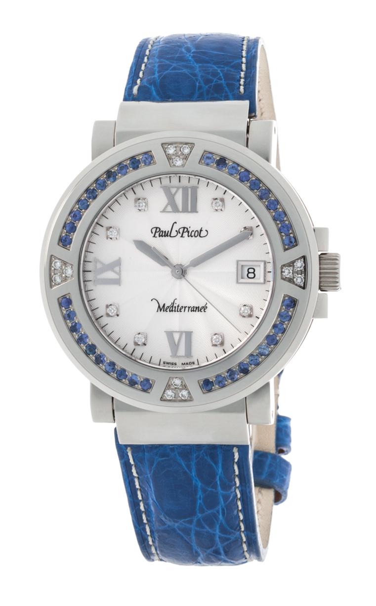 Часы Paul Picot Mediterranee 40 mm P4106.20D12SBA40.7D1CY013