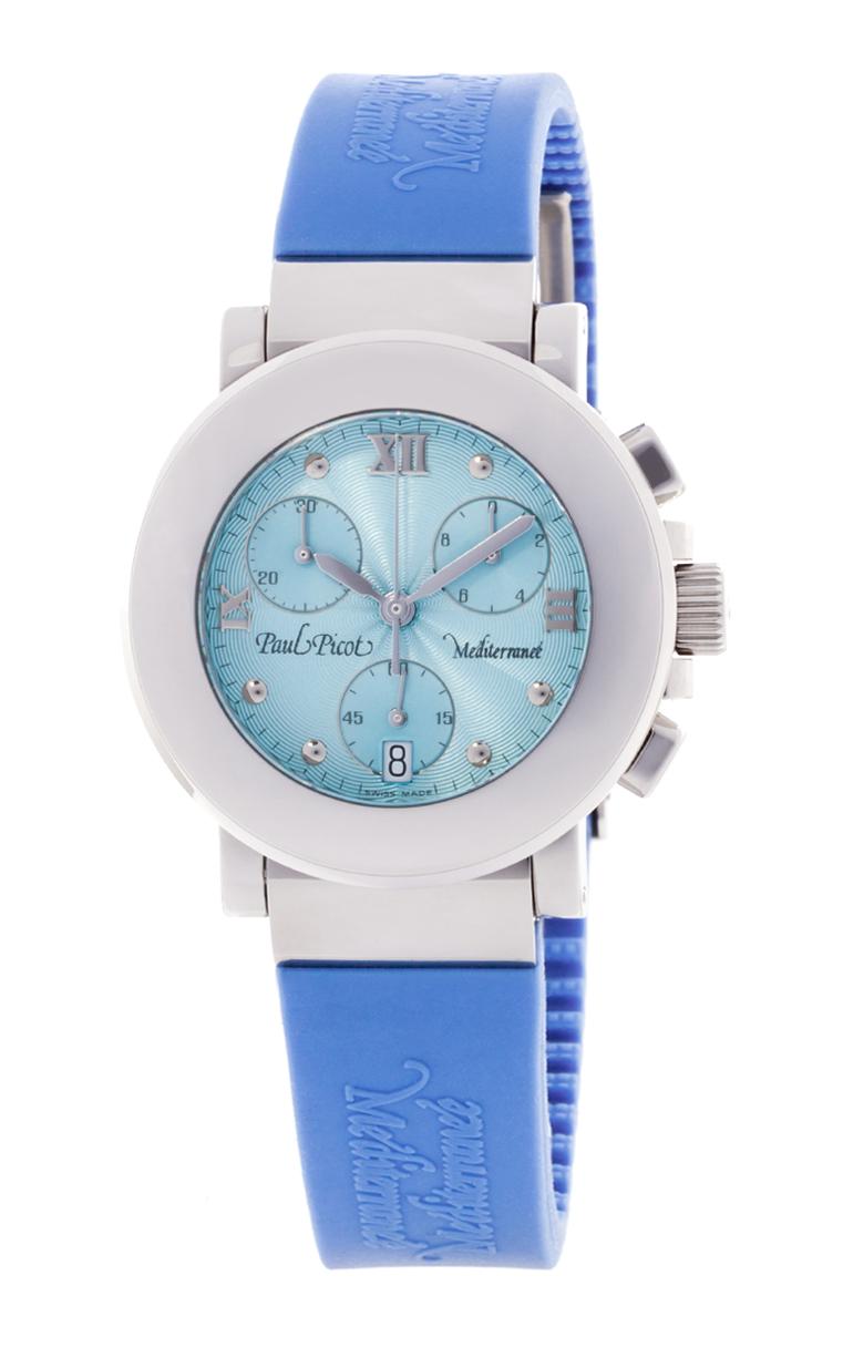 Часы Paul Picot Mediterranee Chronograph 36mm P4107.20.212CM011