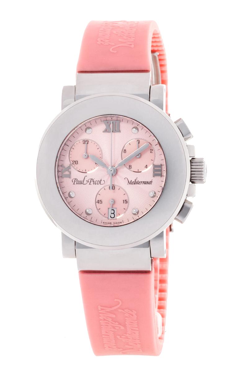 Часы Paul Picot Mediterranee Chronograph 36mm P4107.20.511CM043