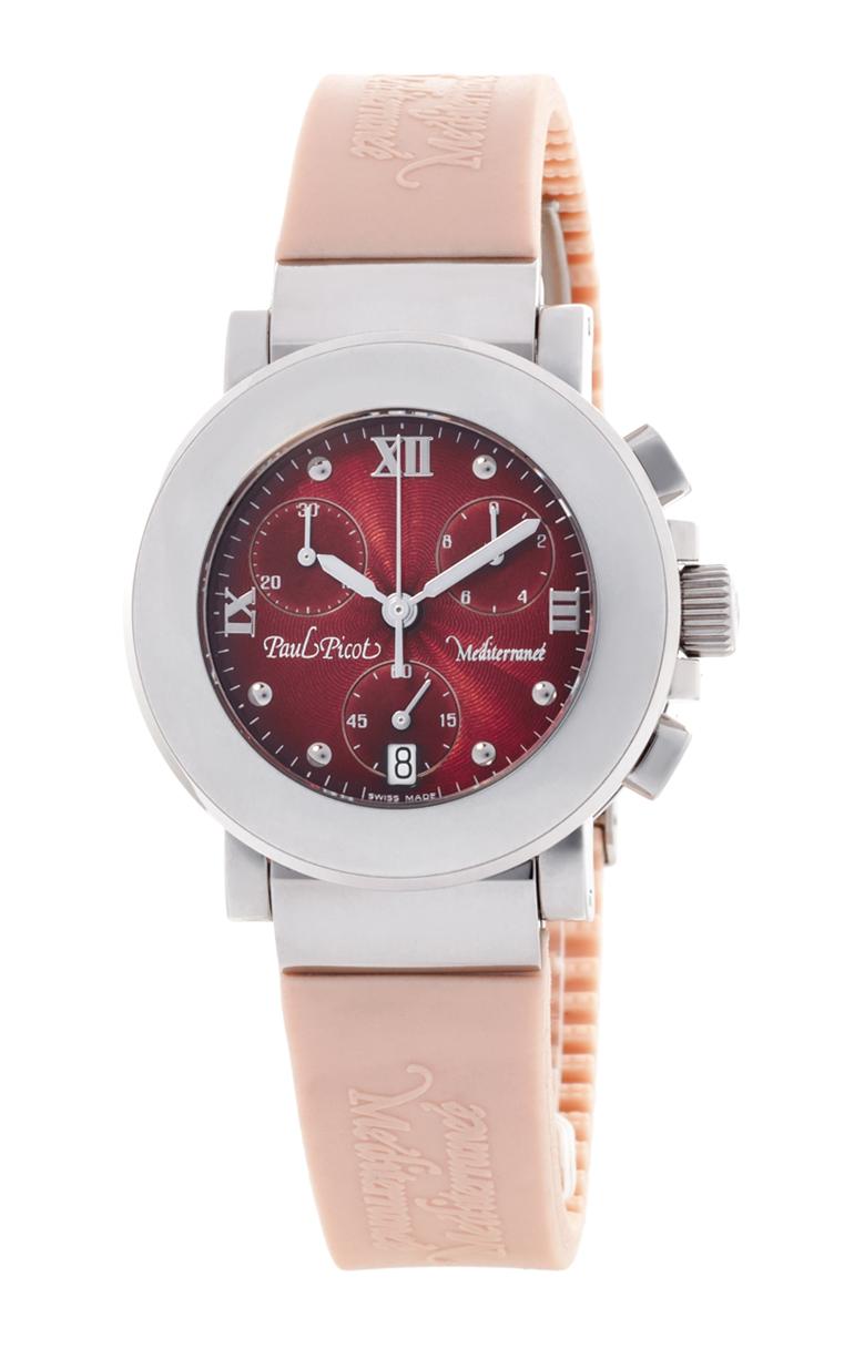 Часы Paul Picot Mediterranee Chronograph 36mm P4107.20.512CM021
