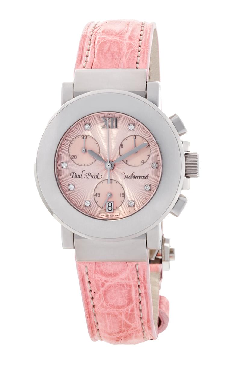 Часы Paul Picot Mediterranee Chronograph 36mm P4107.20.5D1CY043