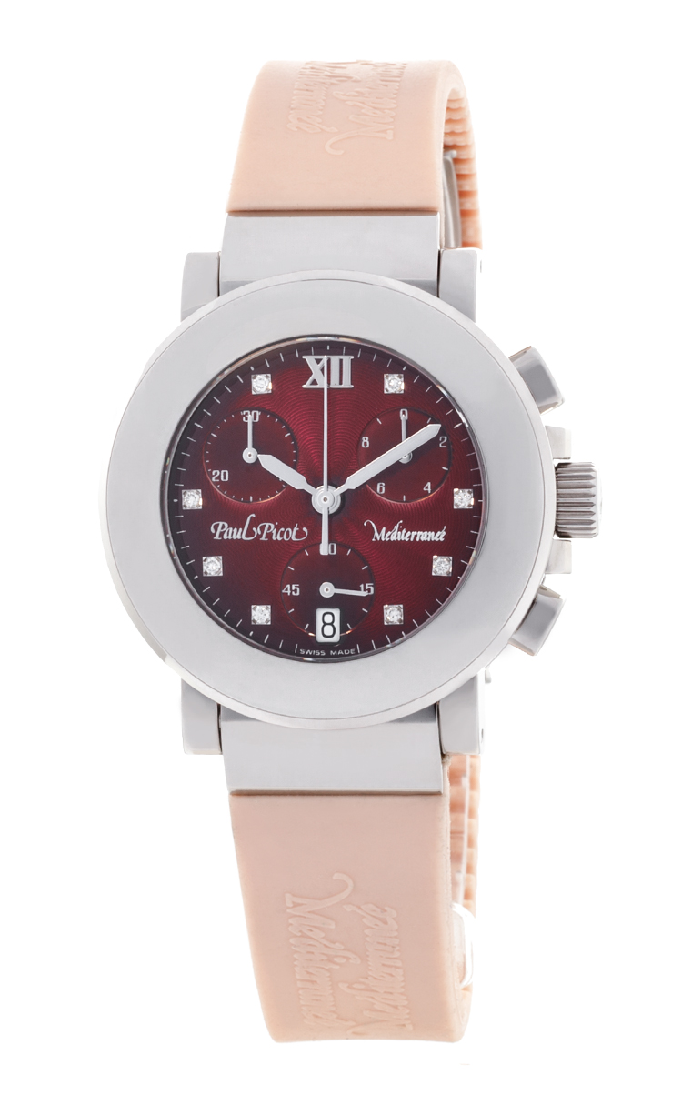 Часы Paul Picot Mediterranee Chronograph 36mm P4107.20.5D2CM021