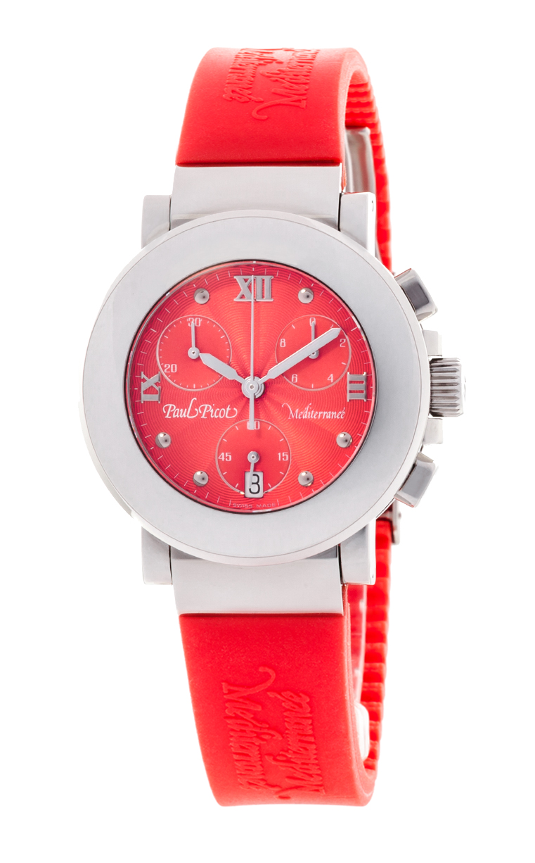Часы Paul Picot Mediterranee Chronograph 36mm P4107.20.911CM042