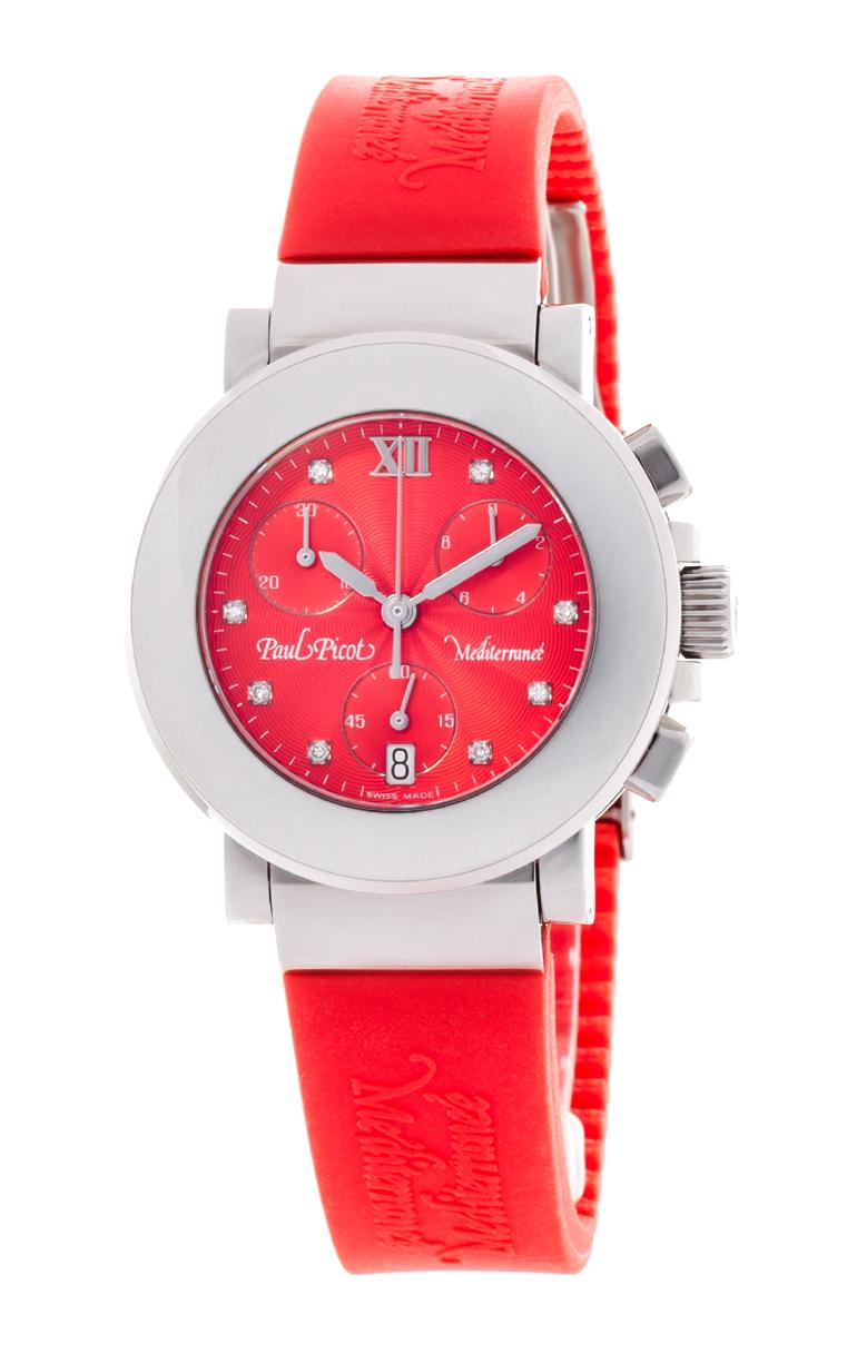 Часы Paul Picot Mediterranee Chronograph 36mm P4107.20.9D1CM042
