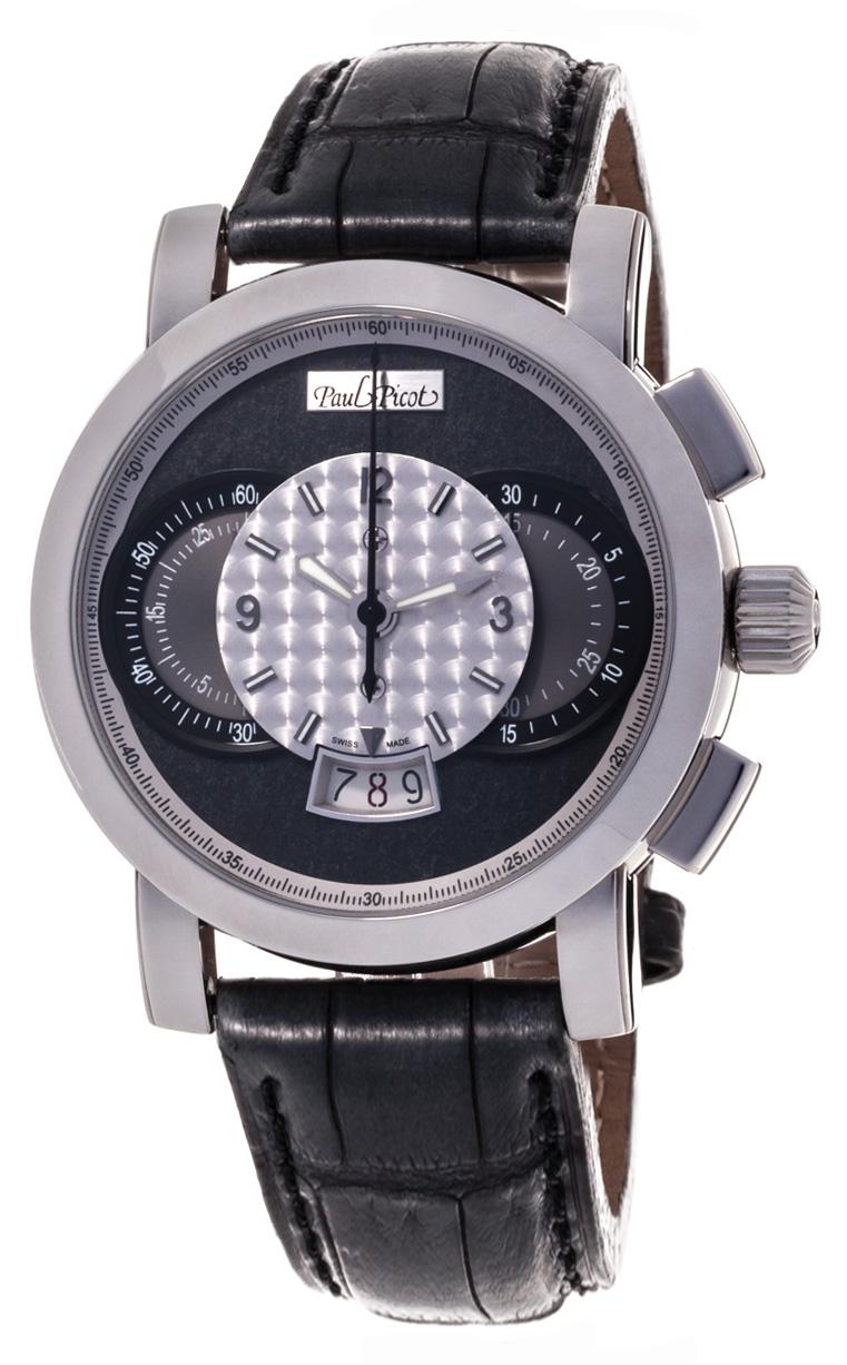Часы Paul Picot Technograph Wild 44 mm P0334-2Q.SG.A3201