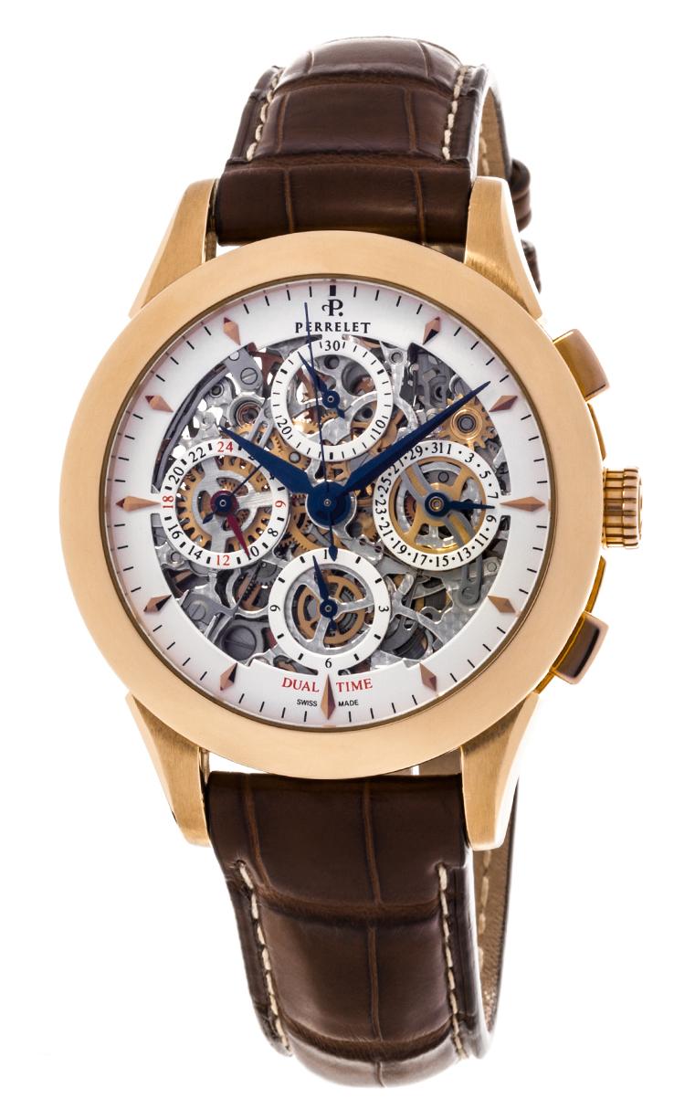 Часы Perrelet Chronograph Skeleton A3007/3