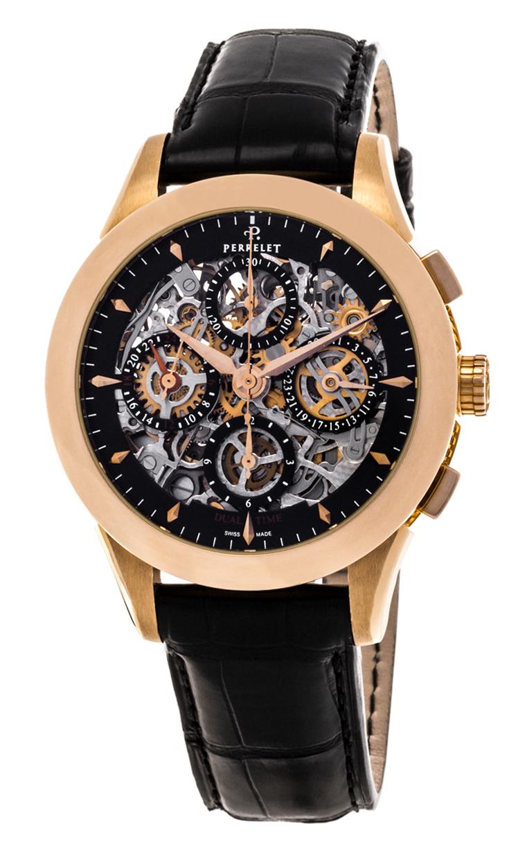 Часы Perrelet Chronograph Skeleton A3007/9