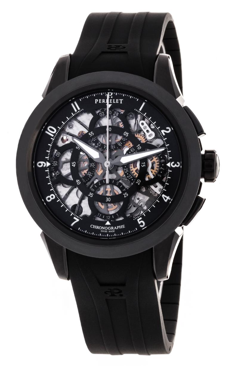 Часы Perrelet Classic Skeleton Chrono A1057/1
