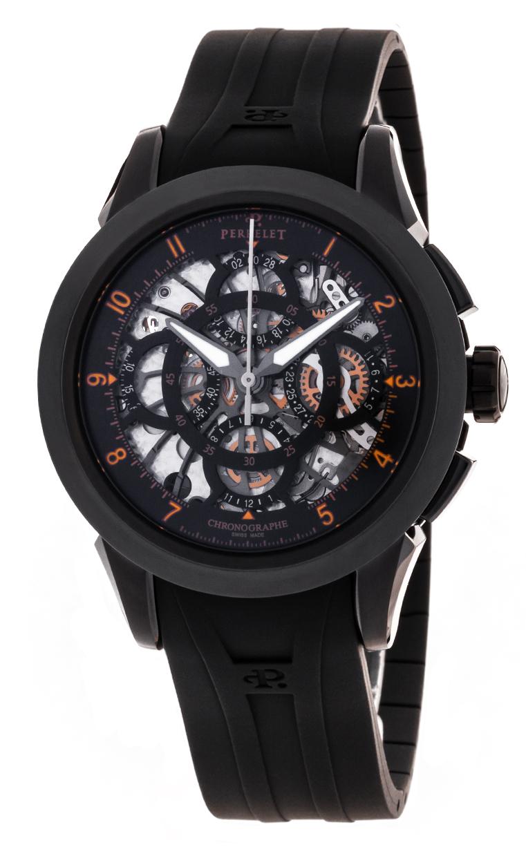Часы Perrelet Classic Skeleton Chrono A1057/3