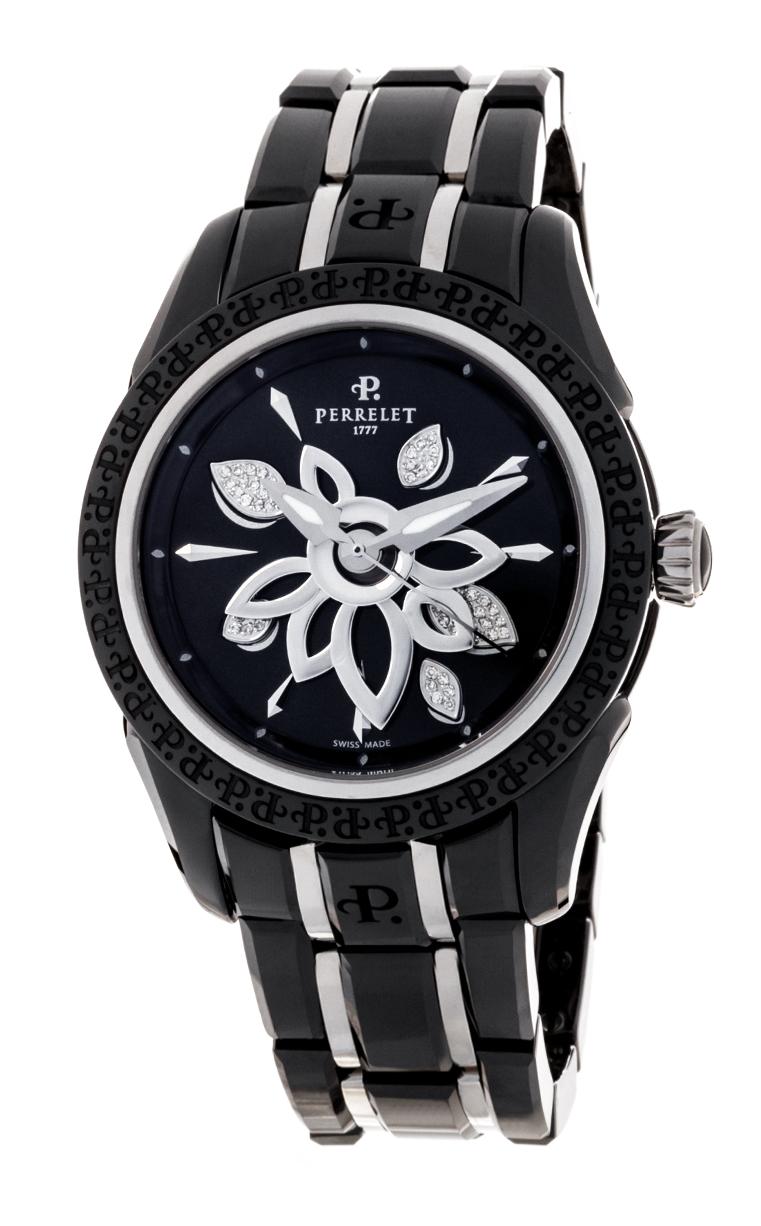 Часы Perrelet Diamond Flower Ceramic A2039/B