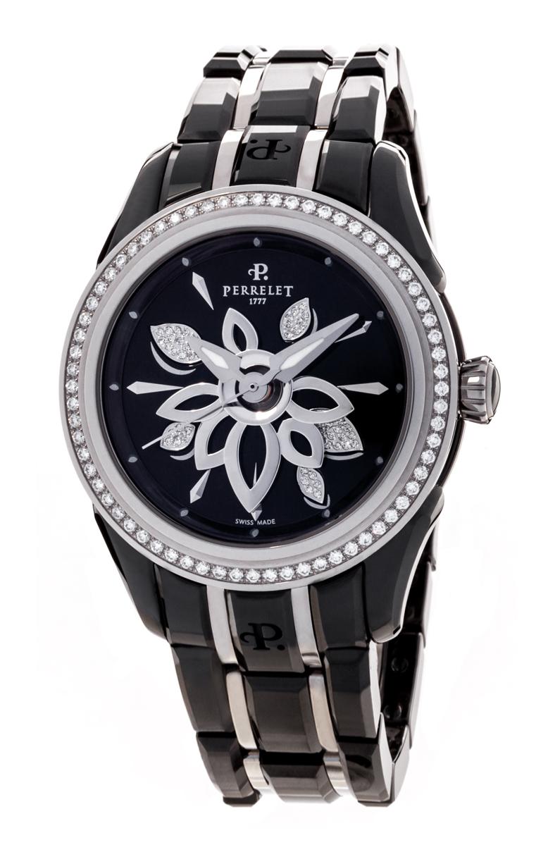 Часы Perrelet Diamond Flower Ceramic A2040/B