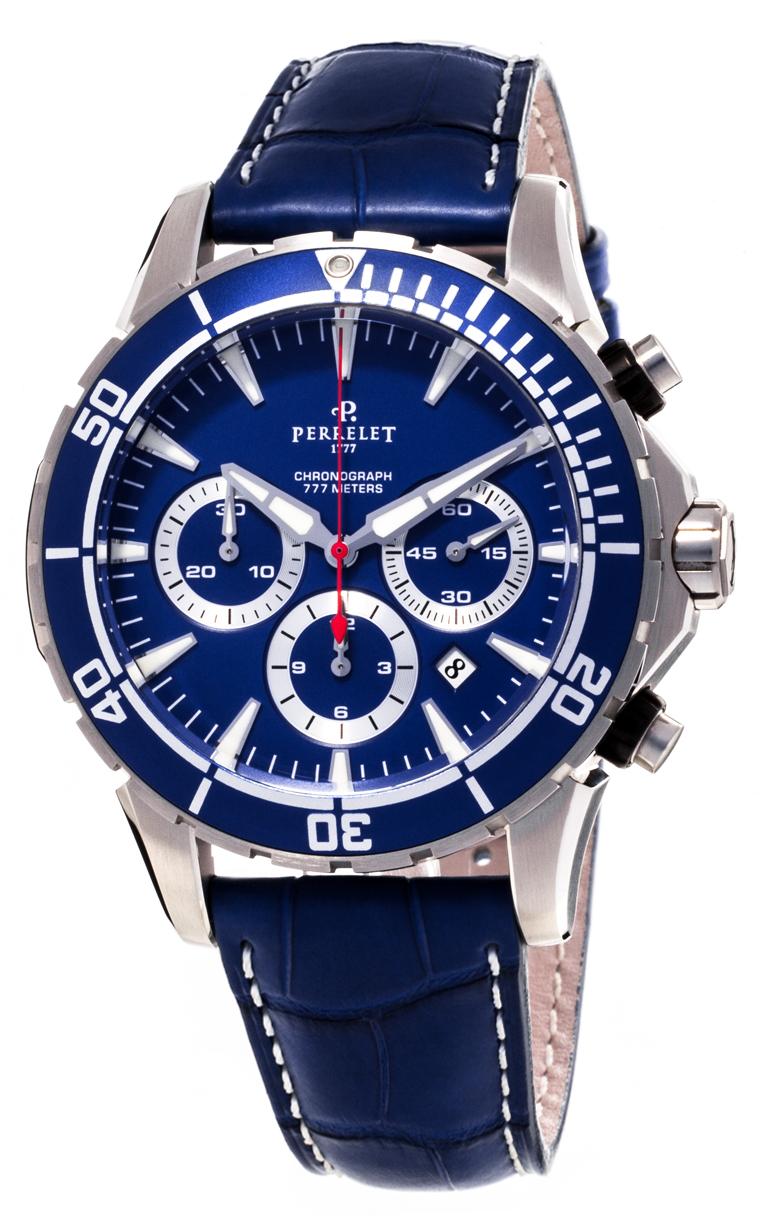 Часы Perrelet Seacraft Chronograph A1054/3