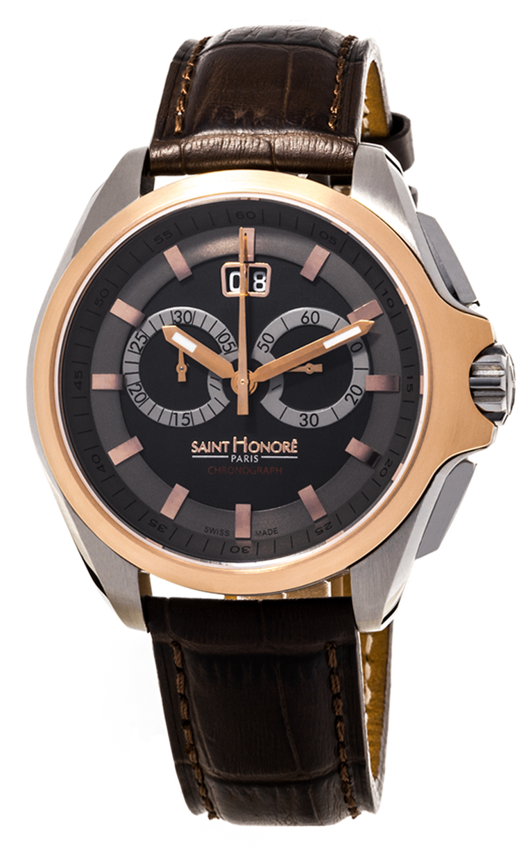 Часы Saint Honore Coloseo 44 mm Quartz Chronograph 885065 6NIAR